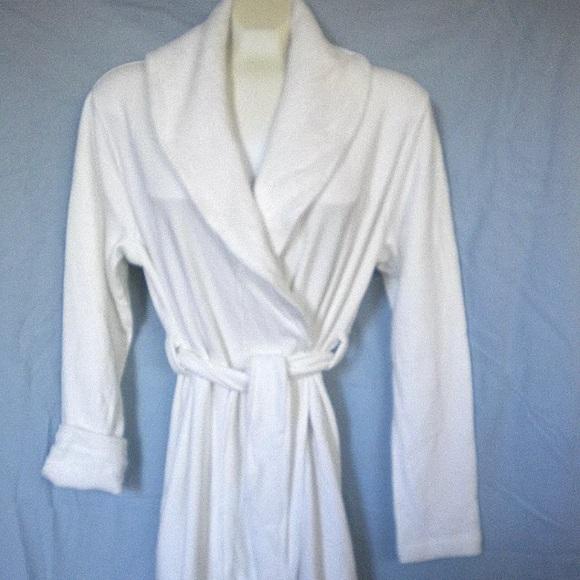 UGG Australia women s BLANCHE Robe White M new 41b78b0bd